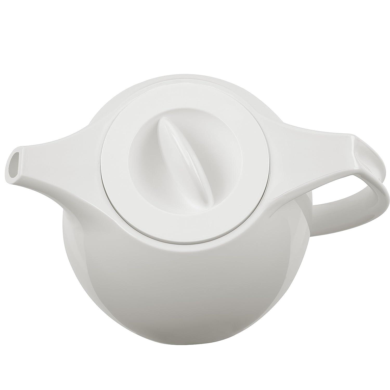 Emsa 503692 Ellipse vacuum tea pot with strainer 1.0 litres white