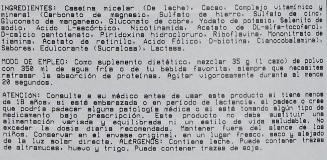 Okygen 100% Micellar Casein Suplemento de Proteínas, Sabor a Chocolate - 907 gramos: Amazon.es: Salud y cuidado personal