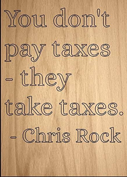 Amazon Com You Don T Pay Taxes They Take Taxes