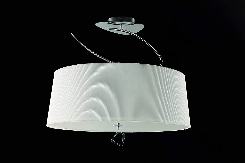 Mantra 1645 Mara E27 230 V cromo lámpara de techo: Amazon.es ...