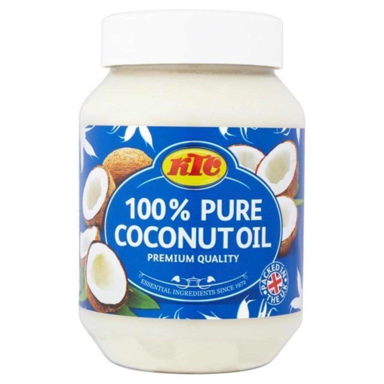 KTC – Huile de noix de coco 100 % pure, pour les cheveux, les soins de la peau, l'huile de cuisson, les bains de bouche, 500 ml l' huile de cuisson