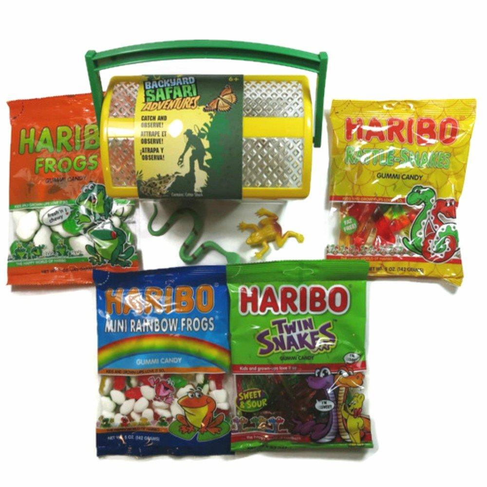 amazon com haribo gummy critter shack variety gift basket