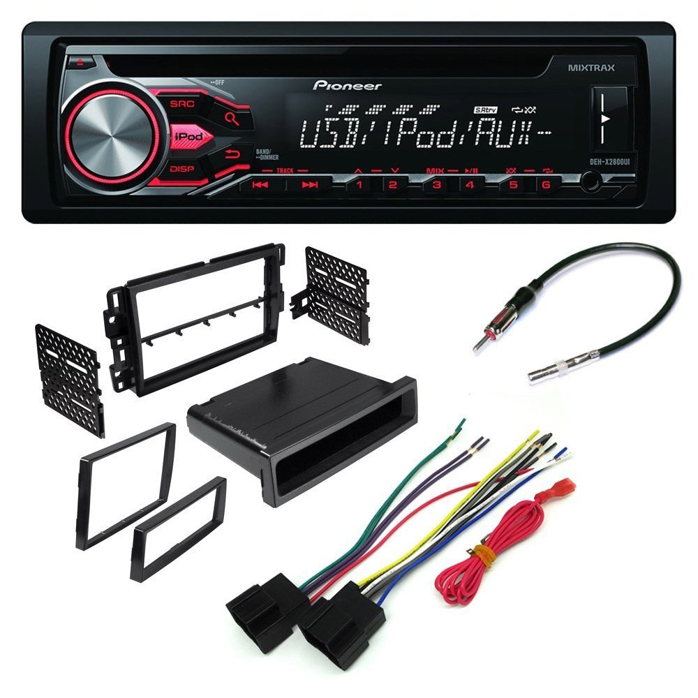 Cheap Car Cd Stereo Receiver Dash Install Mounting Kit Wire Harness Gmc Radio Antenna Adapter Buick Chevrolet