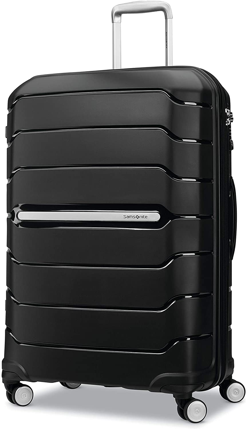 Navy Samsonite Freeform Hardside Expandable with Double Spinner Wheels