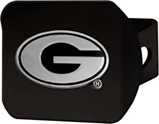 product image for University of Georgia Black Metal Hitch Cover