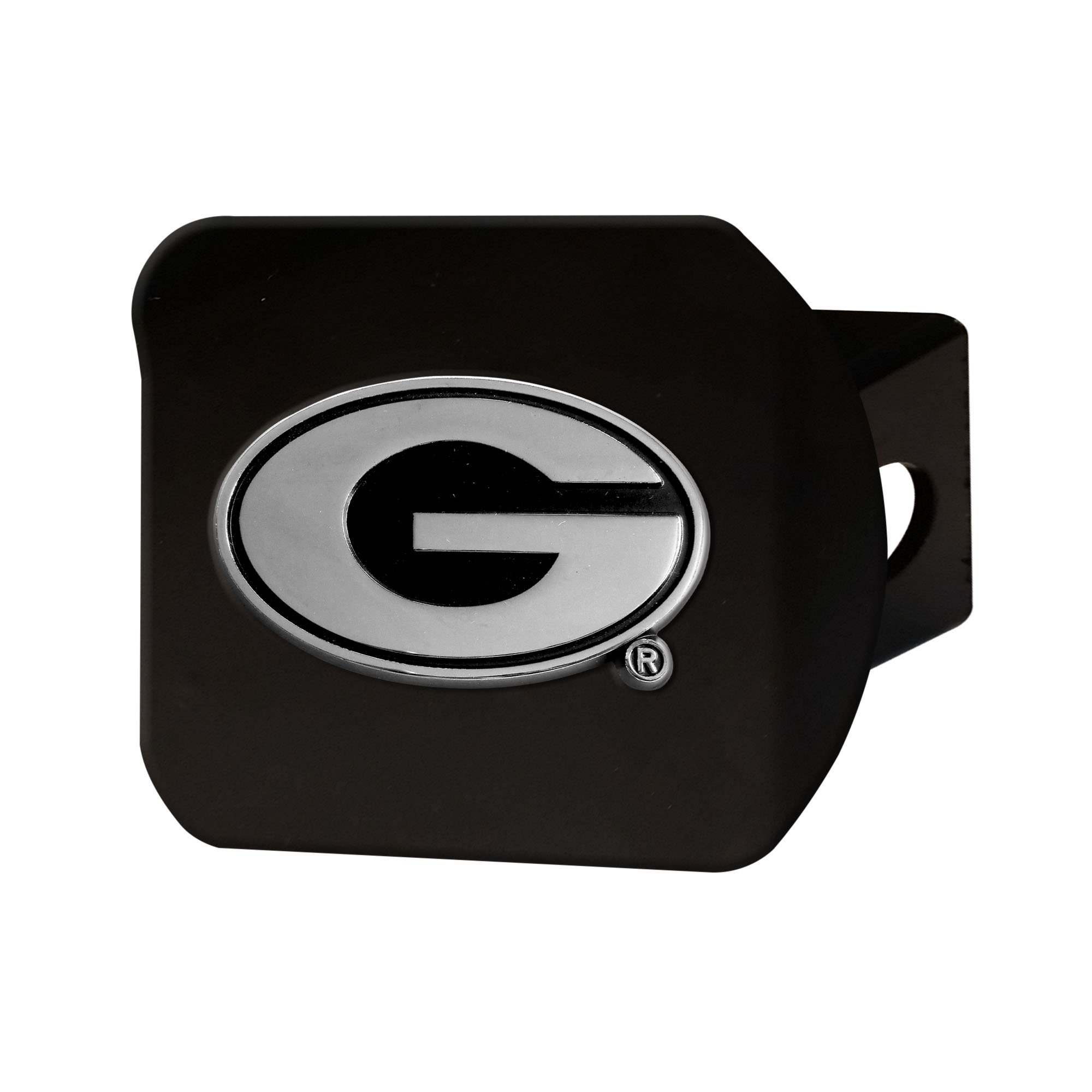 FANMATS 21030 Team Color 3.4''x4'' Georgia Black Hitch Cover