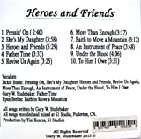 Heroes and Friends, Christian Music CD
