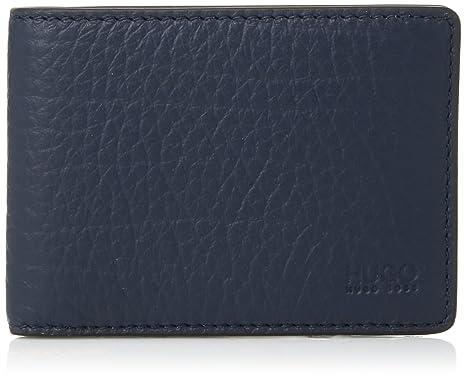 07049752fb3 HUGO by Hugo Boss Men's Victorian 6 Credit Card Pocket Embossed Leather  Wallet, navy,