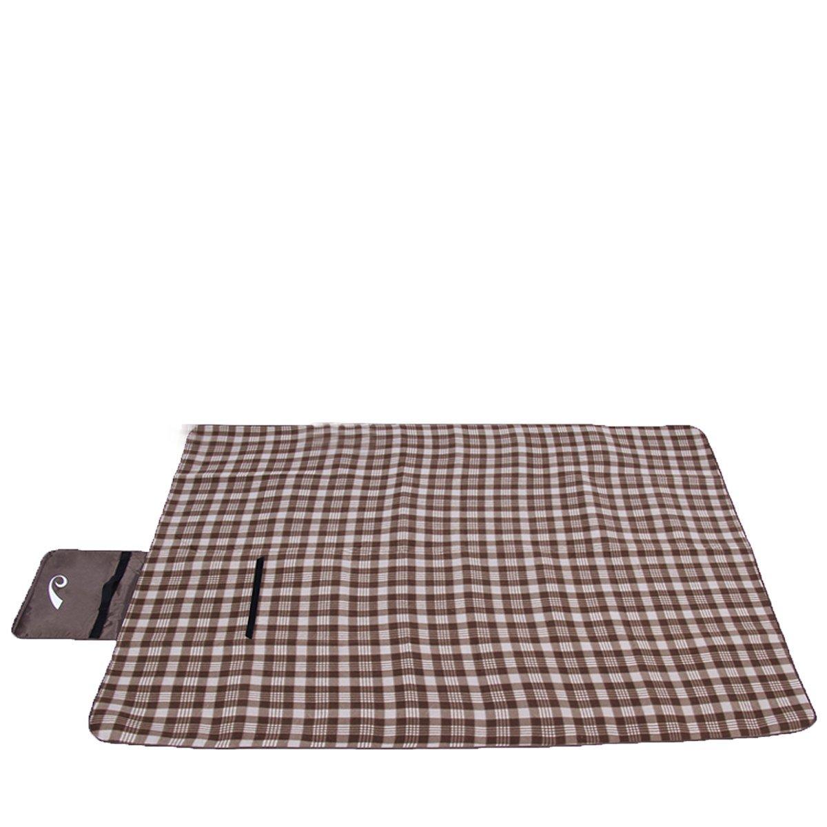 Outdoor Gear / Picknickmatte / Große / Wasserdicht / Isomatte / Reise Notwendig,Brown-70.9*57.1(in)