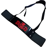 Diablo Arm Blaster for Muscle Arms Bicep Builder with Heavy Duty Padded Straps