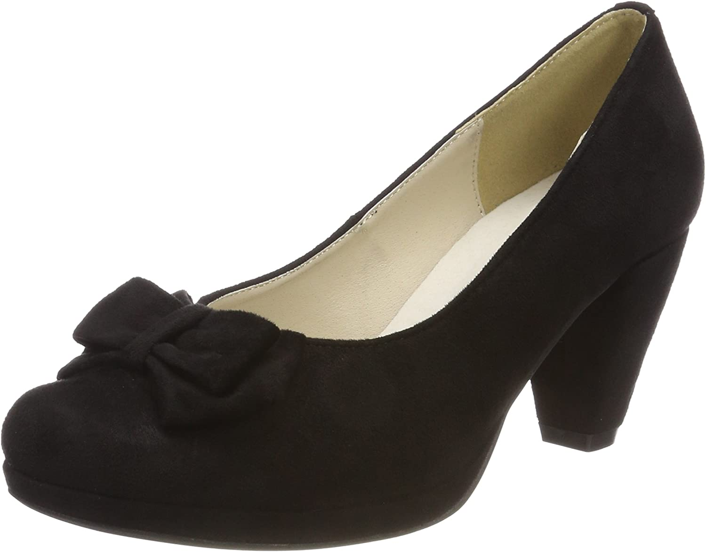 TALLA 37 EU. Andrea Conti 1005718, Zapatos de Tacón con Punta Cerrada para Mujer