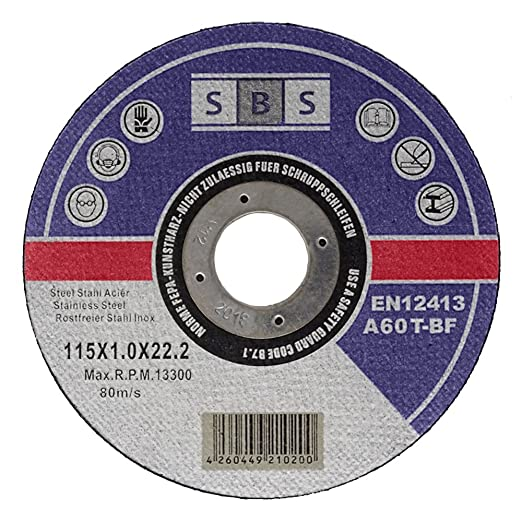 7 opinioni per 10 pcs SBS maniqui separa con dischi 115 x 1,0 mm dischi flex