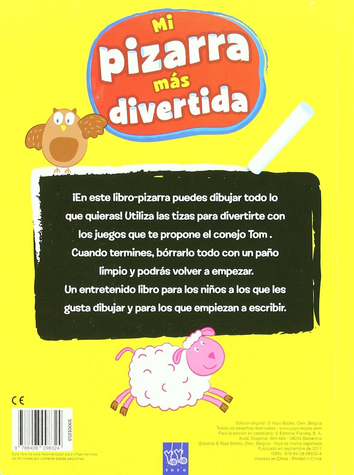 Mi pizarra más divertida. Amarillo: S.A. Editorial Planeta ...