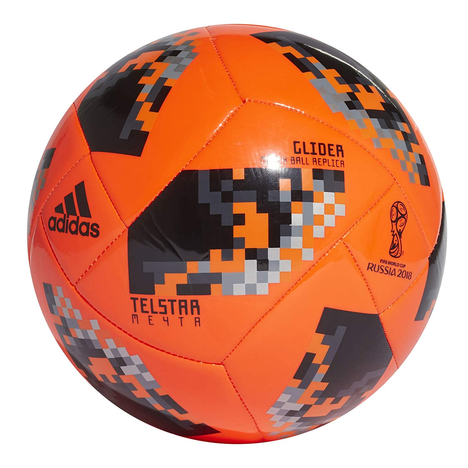 Amazon.com   adidas FIFA World Cup Knockout Glider Ball - Orange   Sports    Outdoors 3c47bed43b977