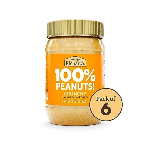 Crazy Richards Crunchy Peanut Butter