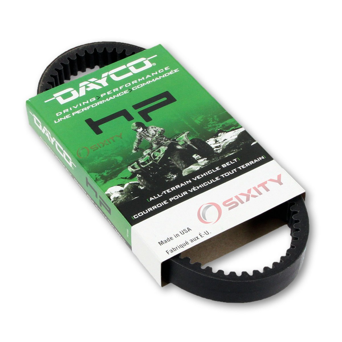 2004-2006 for Arctic Cat 650 V-2 4x4 Auto LE//TS Drive Belt Dayco HP LE TS ATV OEM Upgrade Replacement Transmission Belts
