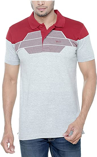 a13b814512d Wexford Men s Polo T-Shirt  Amazon.in  Clothing   Accessories