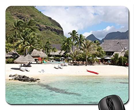 Vina Moorea Island Beach Near Tahiti French Polynesia