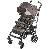 Chicco Liteway 3 - Silla de paseo ligera y compacta, soporta hasta 22kg, color gris, vaquero, beige, azul, rojo o negro
