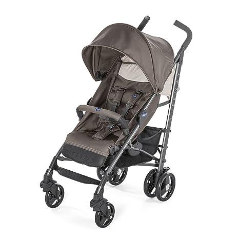 Chicco Liteway 3 Silla de paseo plegable y multifuncional, Unisex Bambini, Gris (Dove Grey)