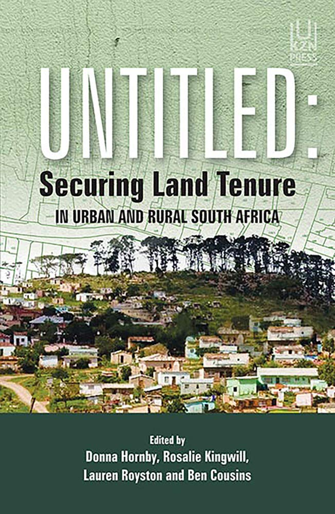 Untitled  Securing Land Tenure In Urban And Rural South Africa