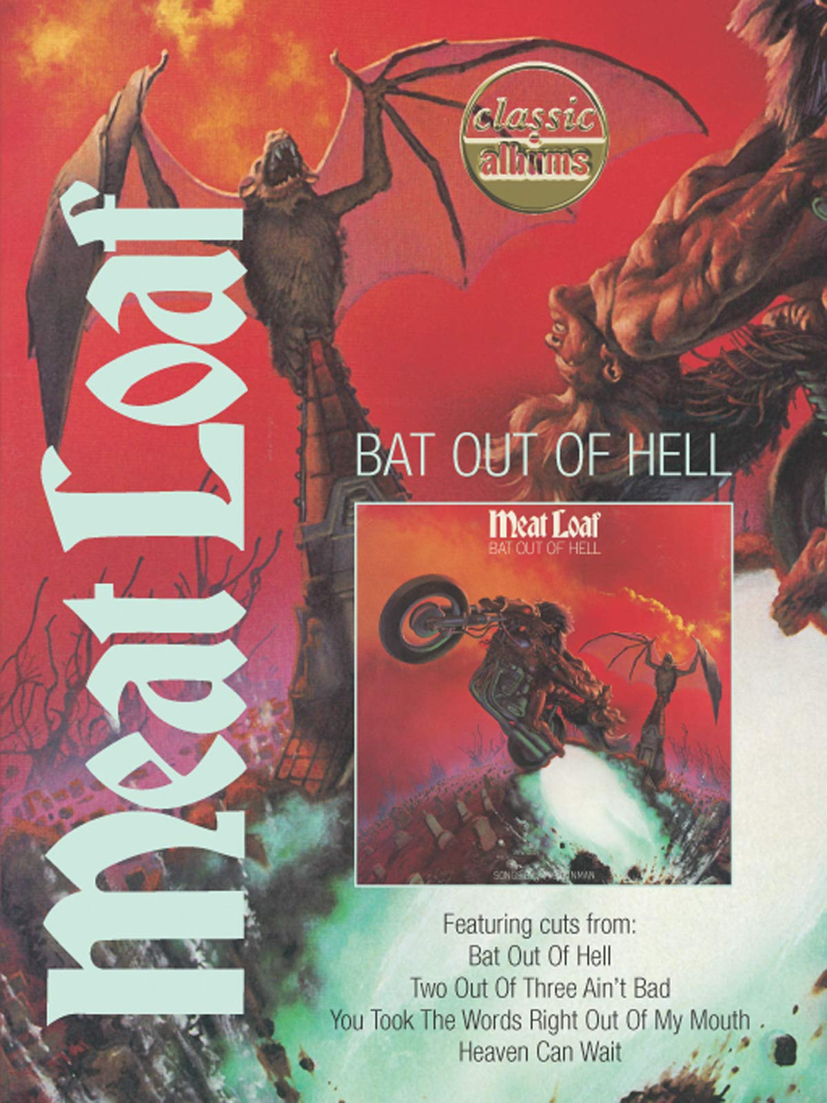 Meat Loaf - Bat Out Of Hell (Classic Album) on Amazon Prime Video UK