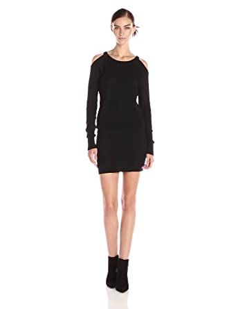 Jessica Simpson Women's Lydia Sweater Dress, Black, X-Small