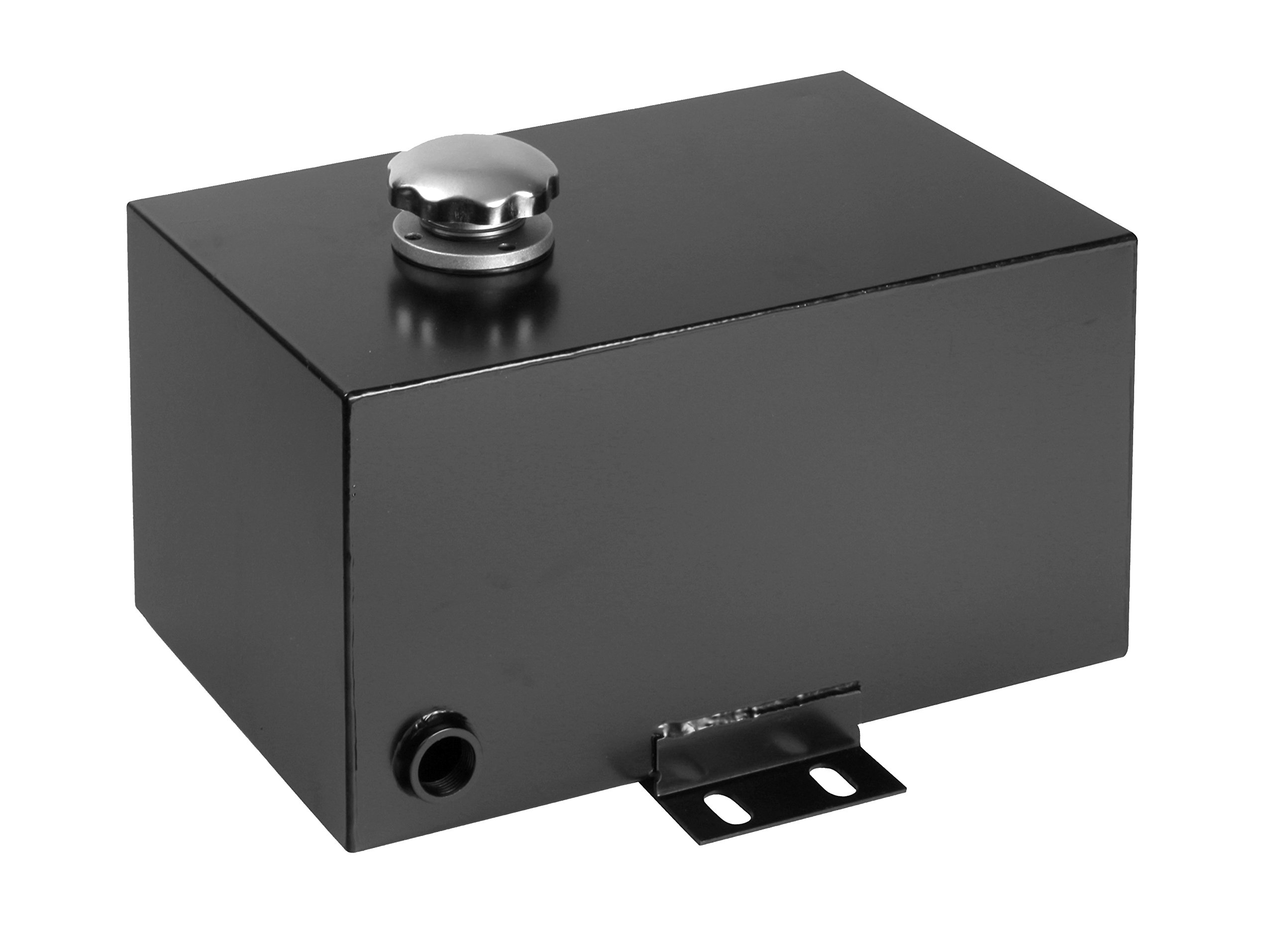 Delavan HYDRES-5 PowerMAX 5 Gallon Steel Hydraulic Reservoir Tank with Inlet 1-1/2'' FNPT and Outlet 3/4'' FNPT