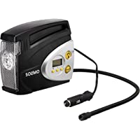 Amazon Brand - Solimo Portable Digital Tyre Inflator (Black)