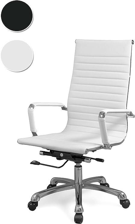 duehome Silla de Oficina, sillón Giratorio para despacho o Oficina ...