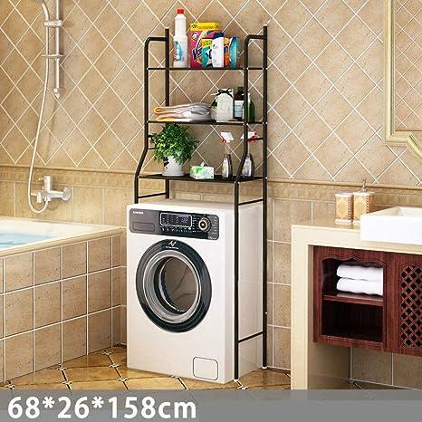 Estante estante para inodoro baño estante de almacenamiento de ...