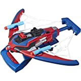 SPIDERMAN - Web Shots Spiderbolt NERF Powered Blaster - Spider-man far from home - Kids Toys - Ages 5+