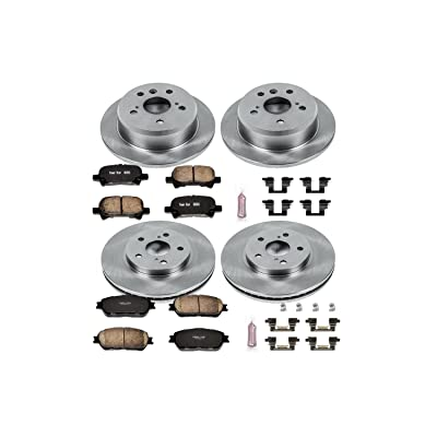 Autospecialty KOE5482 1-Click OE Replacement Brake Kit: Automotive