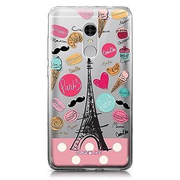 CASEiLIKE Funda Redmi Note 4, Carcasa Xiaomi Redmi Note 4, París Vacaciones 3904, TPU Gel Silicone Protectora Cover