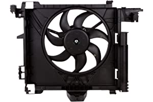 BOXI Engine Cooling Fan Assembly For Smart Car Fortwo 451 2007-2015 0002009323