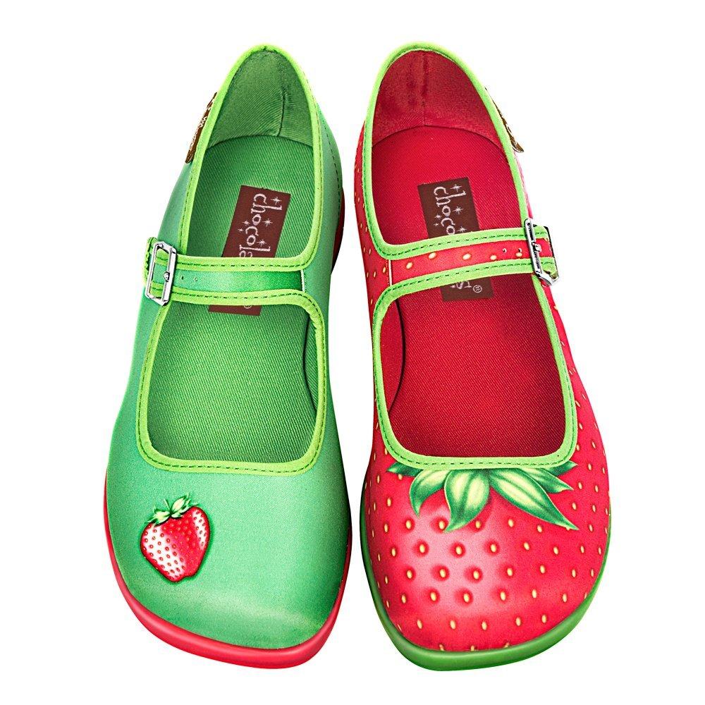 Hot Chocolate Design Jane Chocolaticas Strawberry Damen Mary Jane Design Halbschuhe fba30d