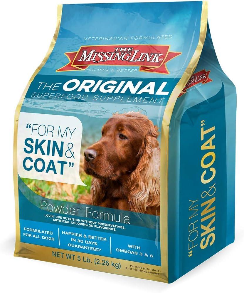 The Missing Link Original Ultimate Skin and Coat Dog Supplement - 5 lb Bag