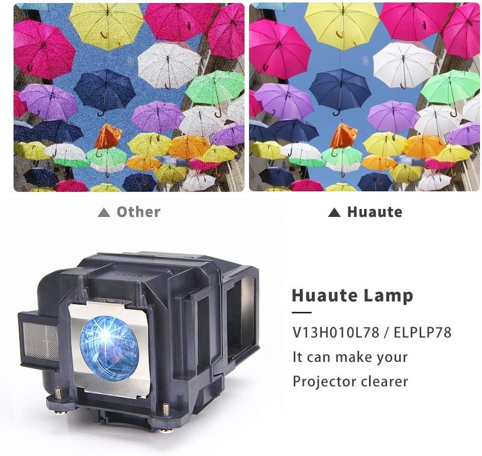 Huaute V13H010L78 / ELPLP78 Lámpara de Repuesto con Carcasa para ...