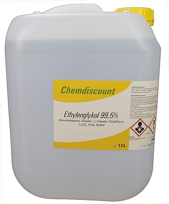 Chemdiscount 10liter Ethylenglykol 99 5 Glykol Monoethylenglykol Ethandiol Auto