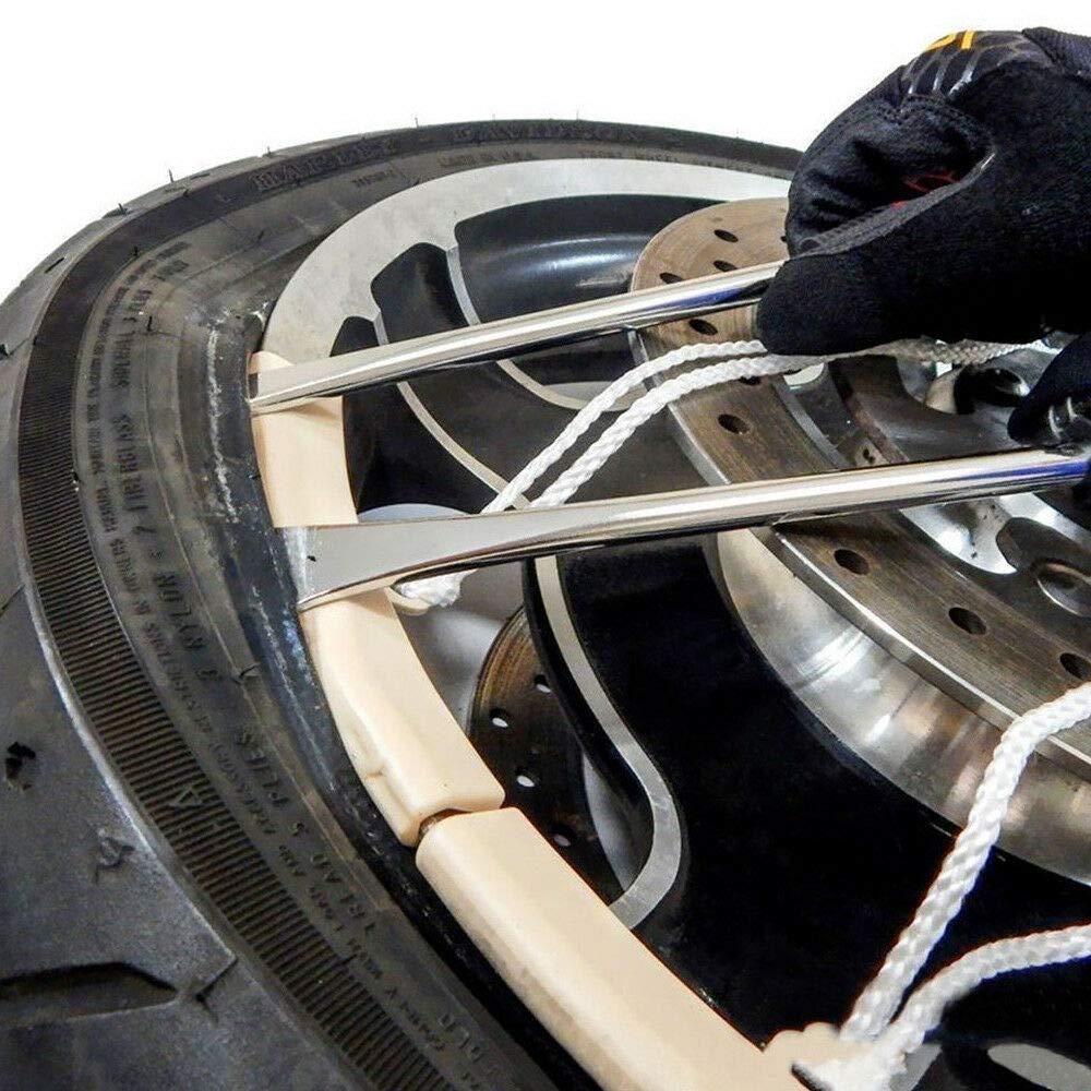 Chofesleu Juego de reparación de neumáticos, Incluye Palanca ...