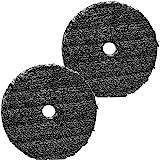 Almofada de fibra Uro Buff and Shine para Composição e Polimento - Pacote com 2 unidades de 7,6 cm
