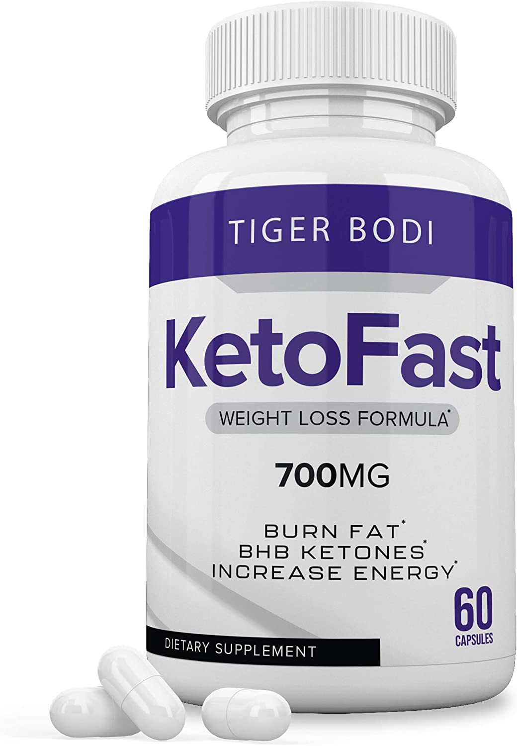 Keto Fast Pills, Epic Keto Fast Burn Ultra Weight Management Capsules 700 mg, Pure Keto Fast Supplement for Energy, Focus - BHB Ultra Boost Exogenous Ketones for Rapid Ketosis for Men Women