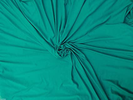 MVS Modal Viscose Spandex Jersey Knit Fabric by the Yard - JADE (Yoga Wear)