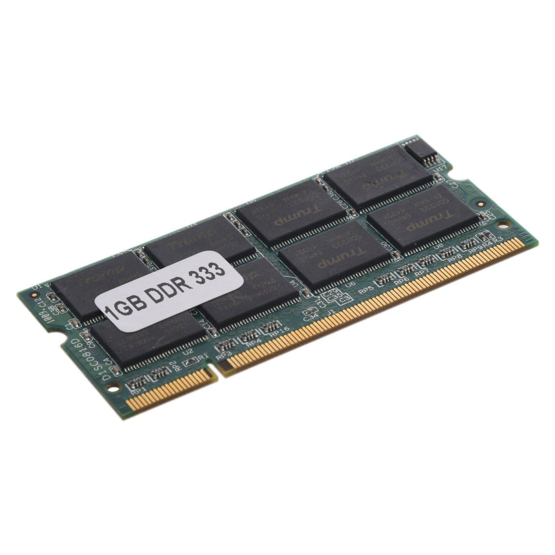 SODIAL 1GB 1G DDR RAM Speicher Memory Laptop 333MHZ Amazon puter & Zubehör