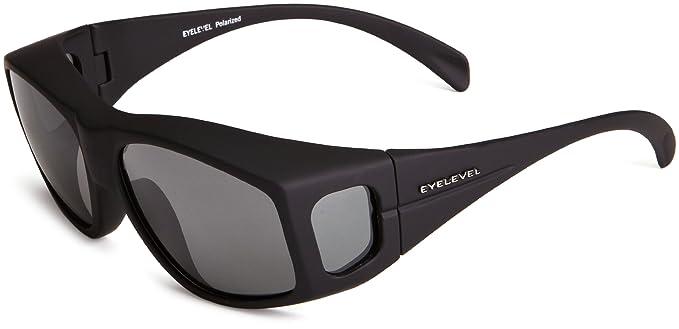 Eyelevel Overglass Med - Gafas de sol polarizadas para hombre, color gris, talla única