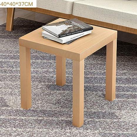 ... Mesa de café Simple, Mesa de té esquinera pequeña Mesa Cuadrada, sofá Mesa Auxiliar, colección Moderna café expreso: Amazon.es: Juguetes y juegos