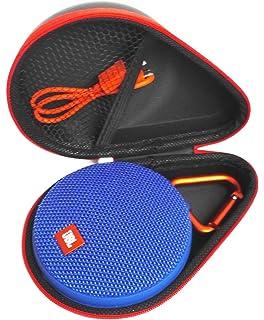 jbl bluetooth speaker clip. fitsand (tm) portable travel carry zipper protective eva hard case cover bag box for jbl bluetooth speaker clip