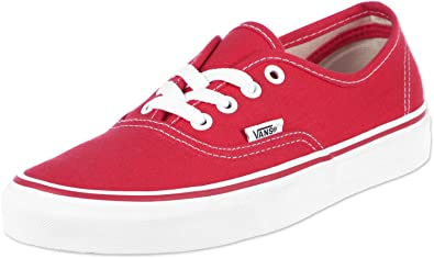 24bffdcbfe68 Vans Authentic Hibiscus True White Skate Shoe UK 4  Amazon.co.uk ...