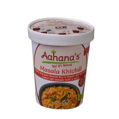 Aahana's Masala and Millet Khichdi/Kitchari (4 Pack): Grocery & Gourmet Food