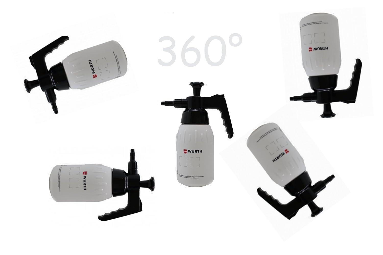Würth 1L Pompe vaporisateur Vaporiser Pompe à flacon 360° Travail dessus de la tête new